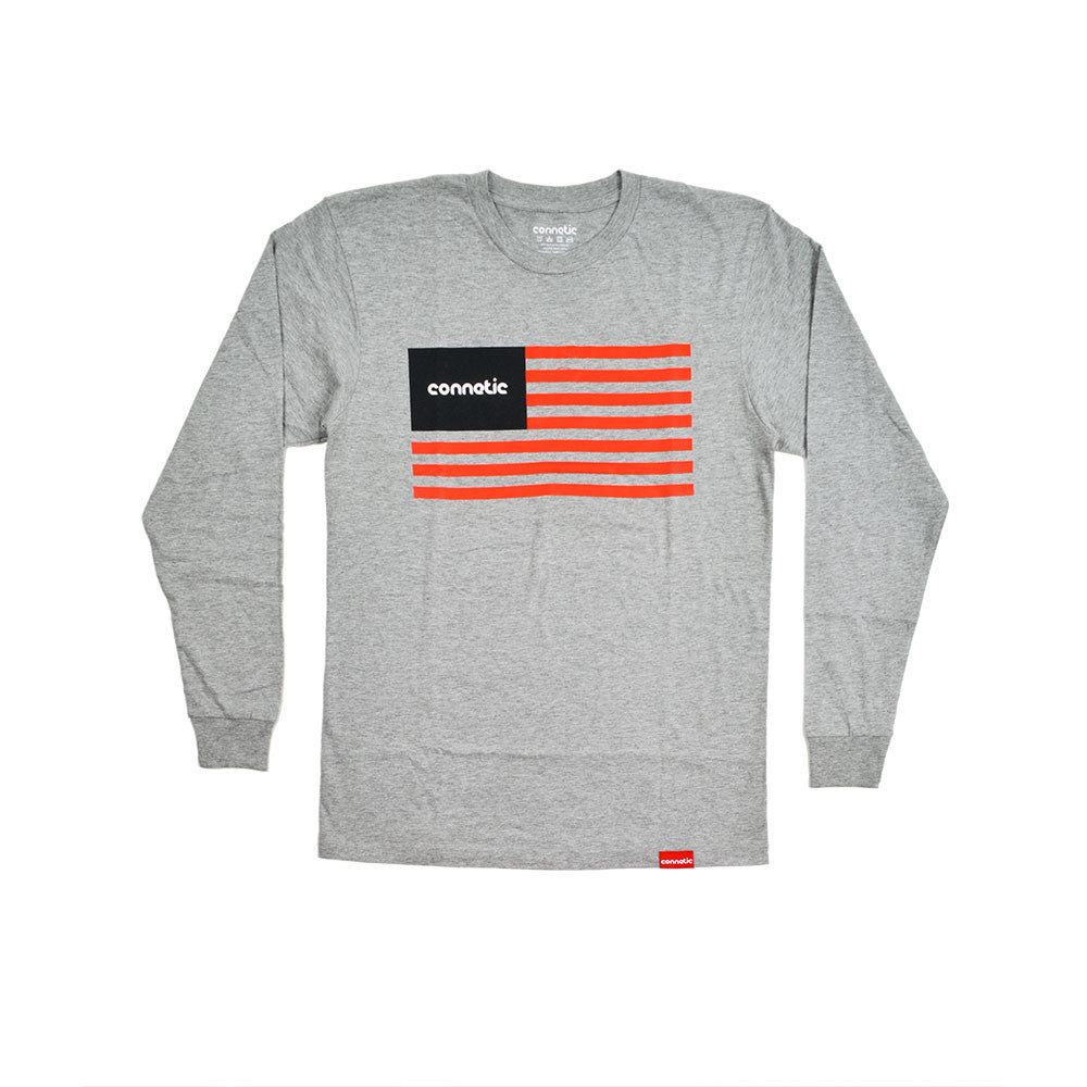 Old Glory Logo Long Sleeve Tee