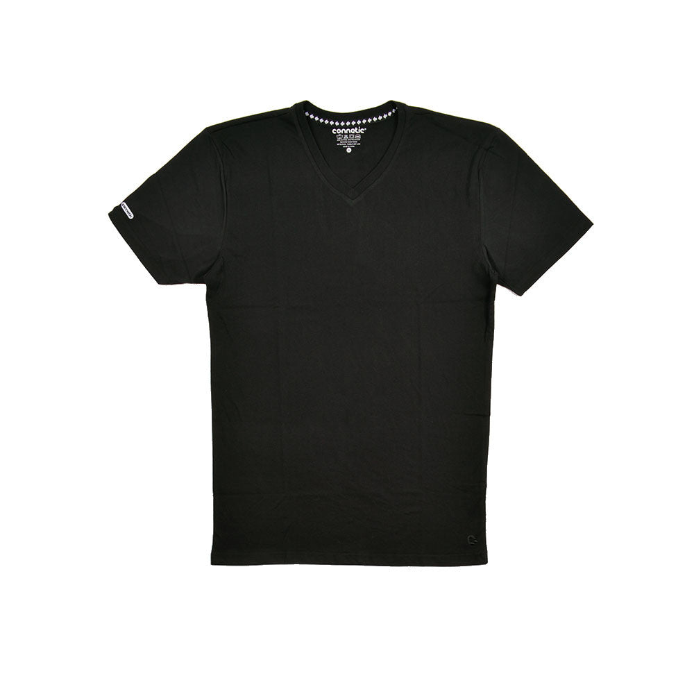 Deck Logo Black Premium V-neck
