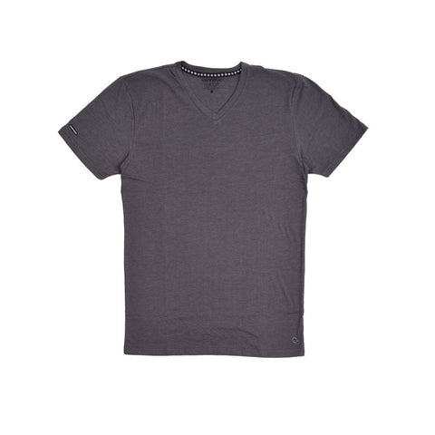 Deck Logo Charcoal Grey Premium V-neck