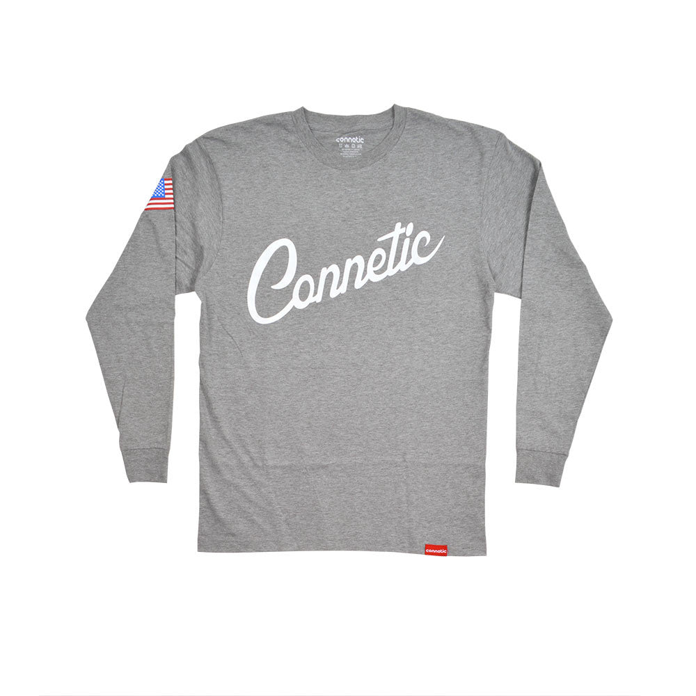 Script Long Sleeve Tee