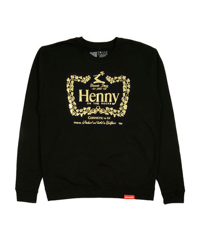 Connetic-crew-otr-henny-black-gold