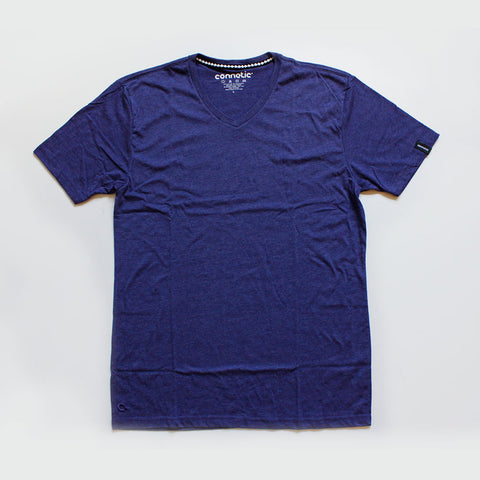 Connetic Vneck Purple Heather