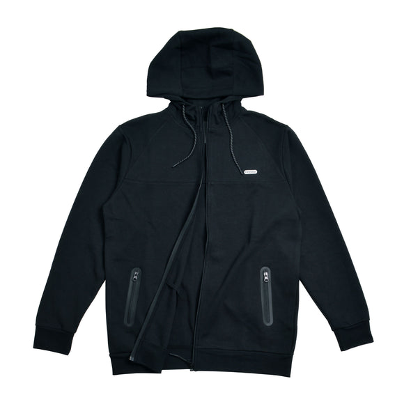 Deck Logo Tech Fleece Zip Up Hoodie