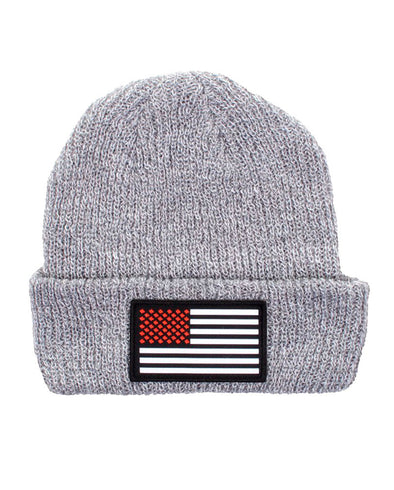 connetic-beanie-old-glory-red-gray
