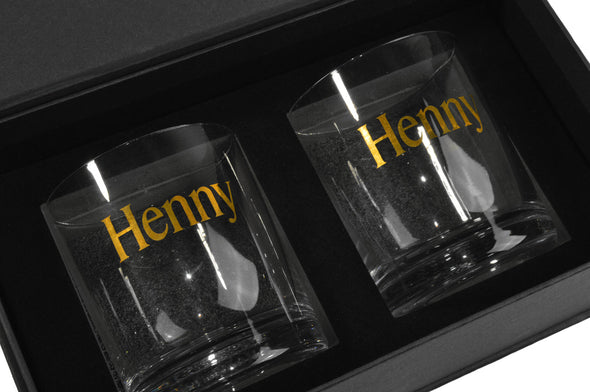 Henny Sipping Glass Set