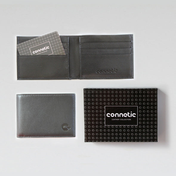 Premium Black Leather Wallet
