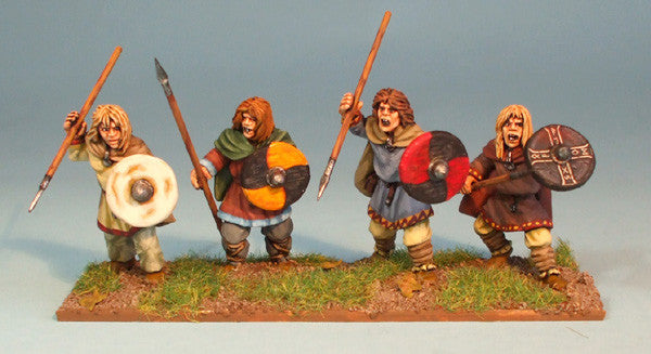 Young Saxon Warriors
