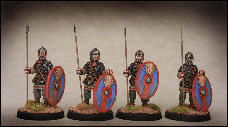 Late Roman Armoured Infantry standing