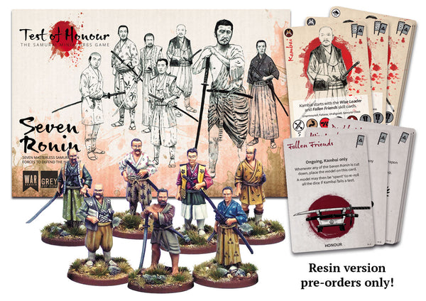 Seven Ronin (resin)