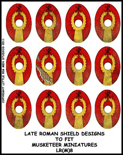Late Roman Shield Transfer LR(FM)8