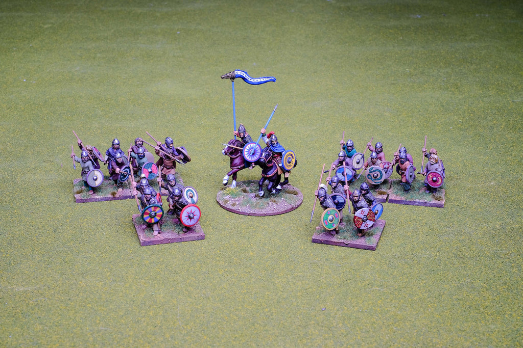 Visigoth 4 point Saga warband #1