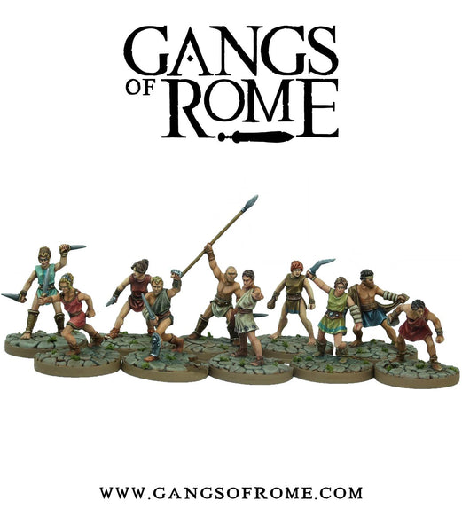 Two Player Gang Fighter set