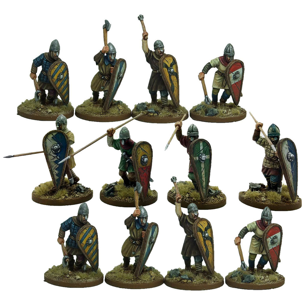 Norman Unarmoured Infantry - 1 point