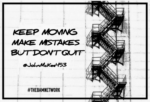 KEEP MOVING WallArt