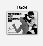 Ken Shamrock The Worlds Most Dangerous Man WallArt