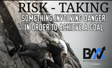 RISK TAKING WallArt
