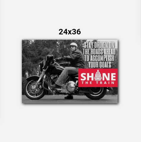 The Shane Train Custom WallArt