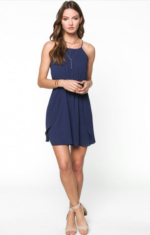 Navy Everly Dress