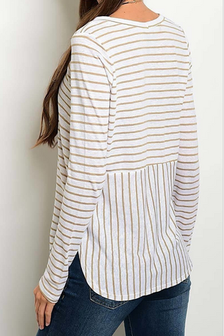 "Striped ""Chelsea"" Top"
