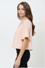 "Light Pink ""Valerie"" Top"