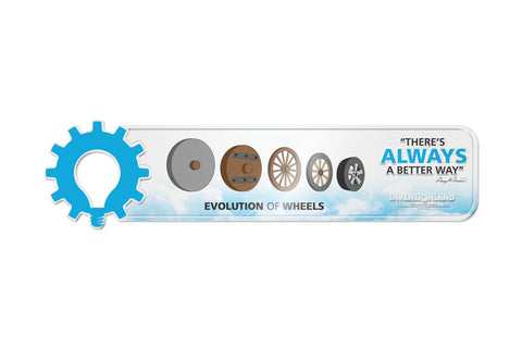 The Evolution of Wheels