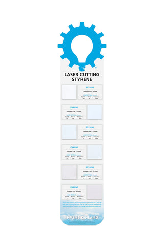 Laser Cutting - Styrene MakerChart™