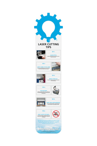 Laser Cutting - Tips MakerChart™