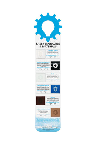 Laser Engraving & Materials MakerChart™