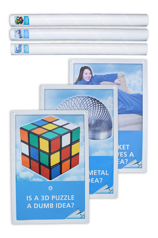 A Dumb Idea (Set of 3, Blanket with sleeves, Twisted Metal, 3D Puzzle)