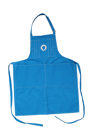 Maker Apron, White Logo
