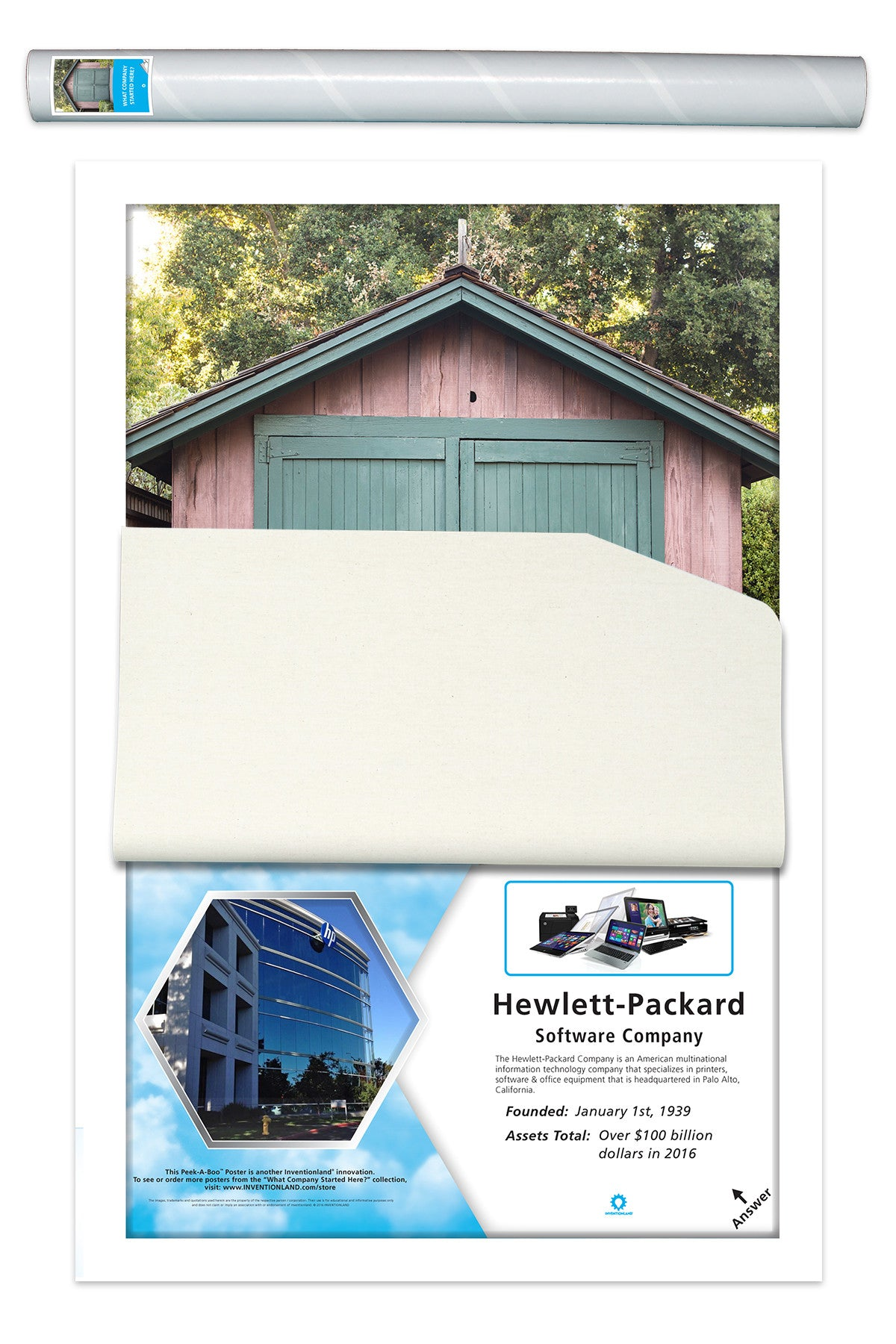 What Company Started Here? - Hewlett-Packard – Inventionland®