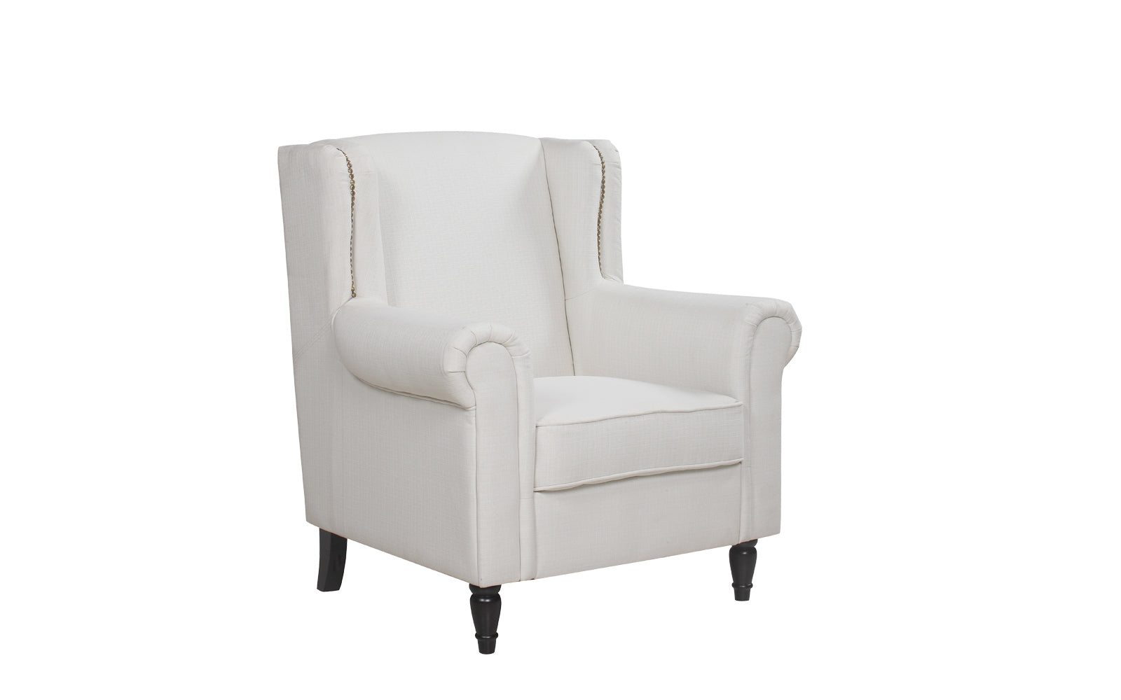Fantastic Galway Classic Scroll Arm Linen Accent Chair Squirreltailoven Fun Painted Chair Ideas Images Squirreltailovenorg