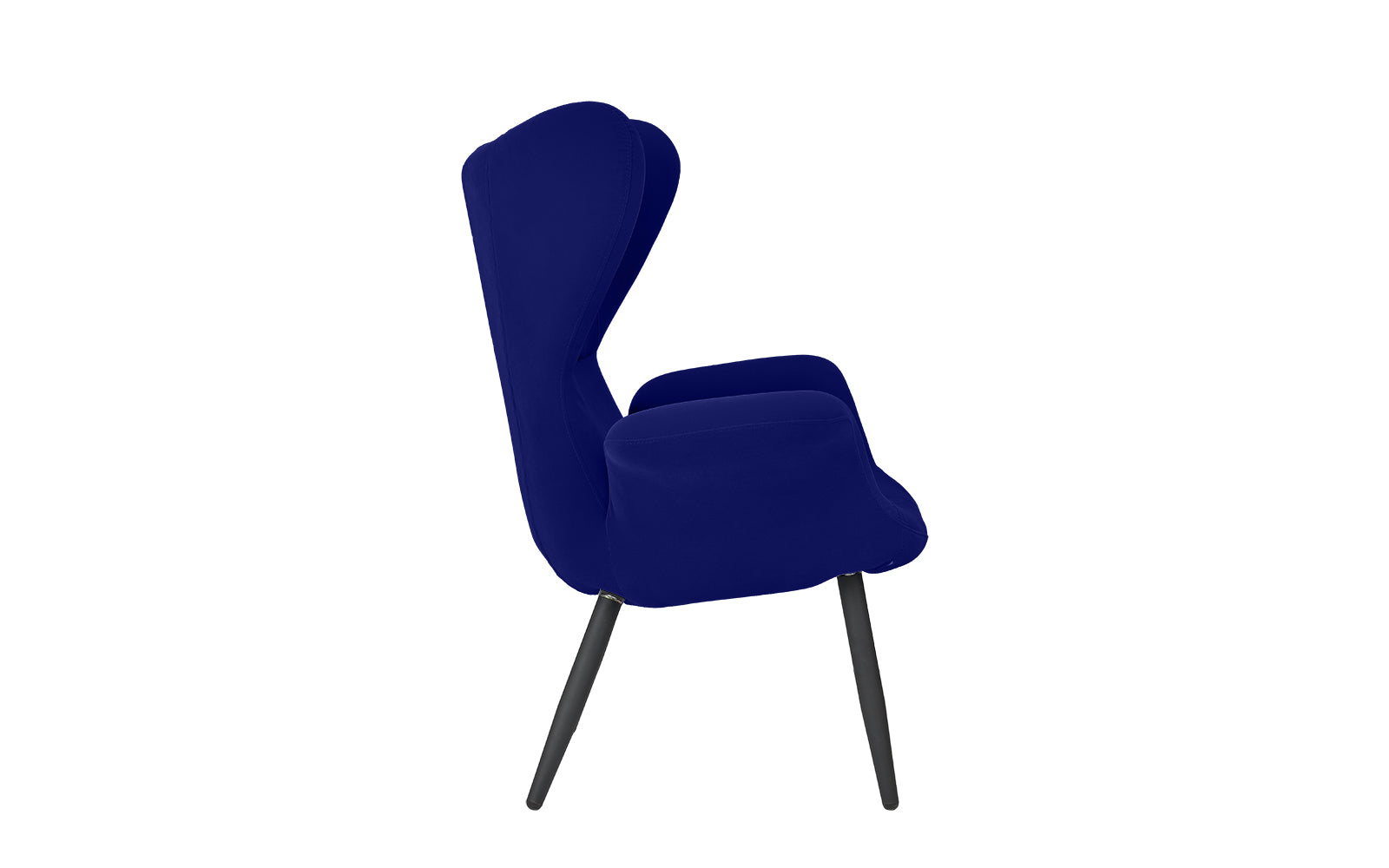 Incredible Ayson Contemporary Velvet Wingback Chair Gmtry Best Dining Table And Chair Ideas Images Gmtryco
