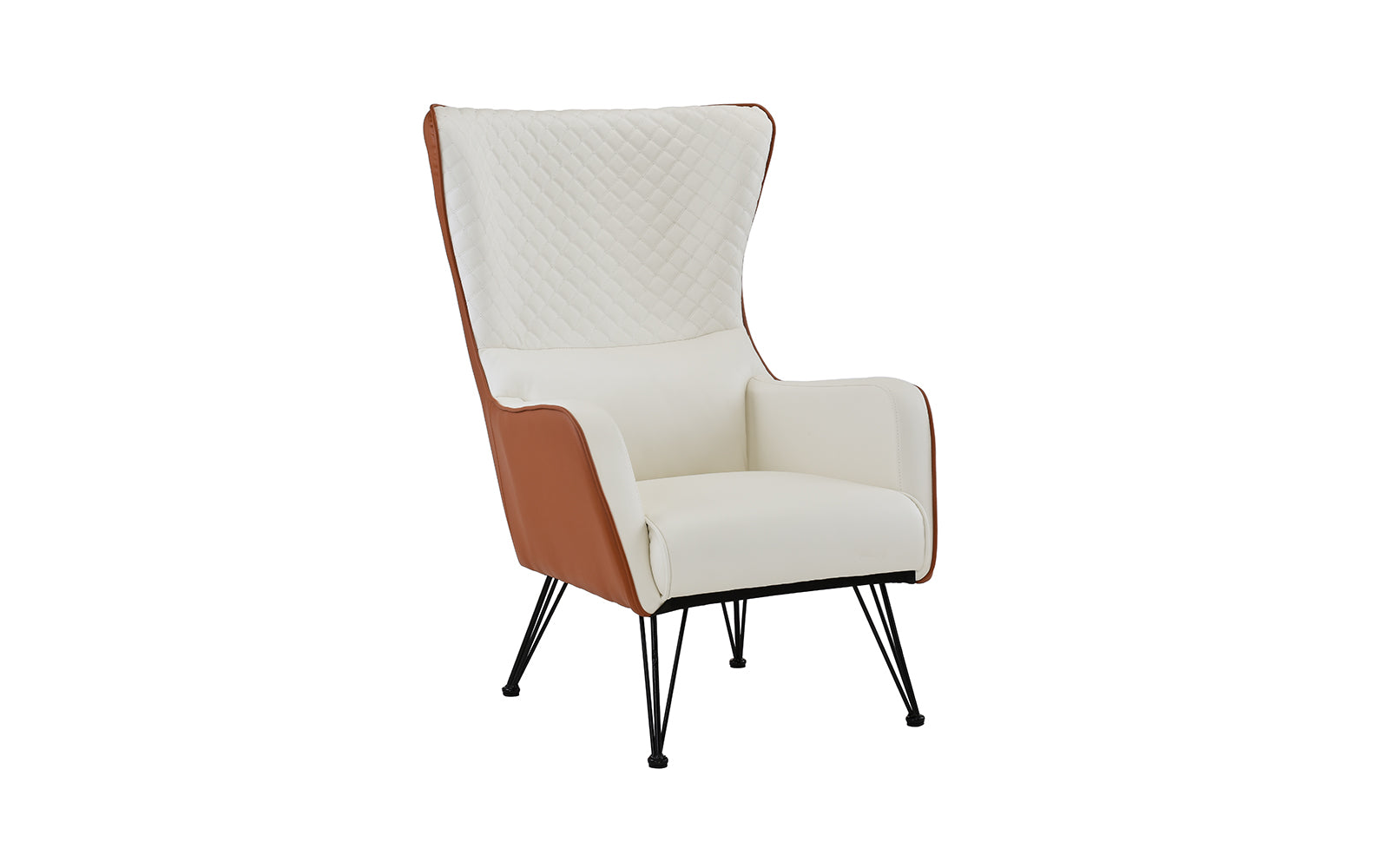Faux Leather Armchair Image
