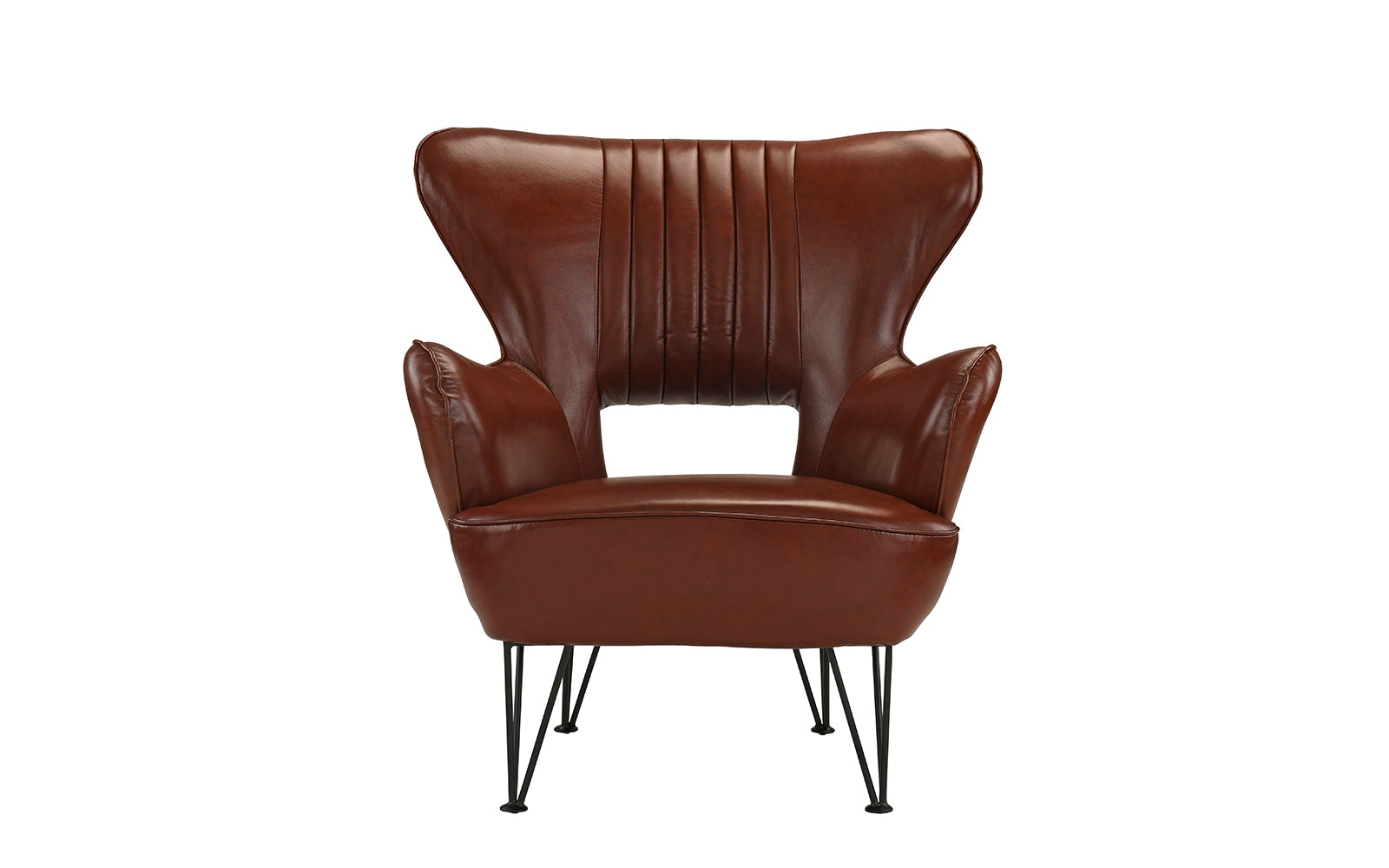 Leather Shelter Armchair Image