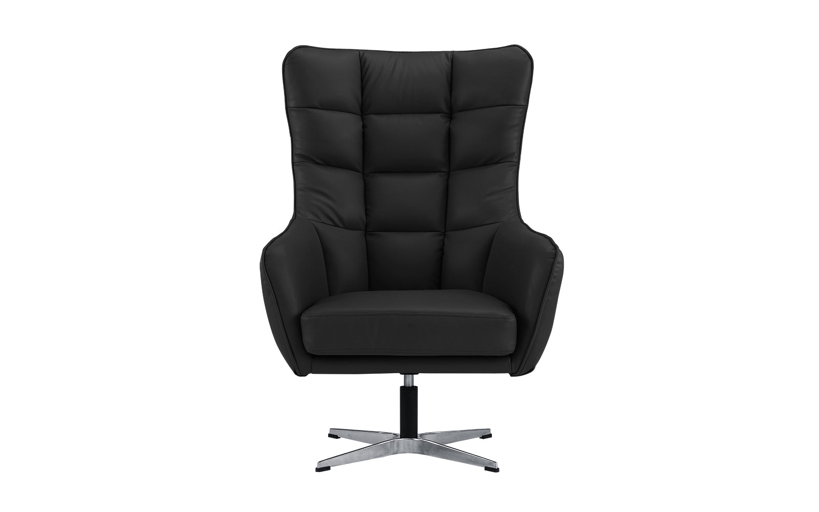 Stella Modern Faux Leather Executive Swivel Chair