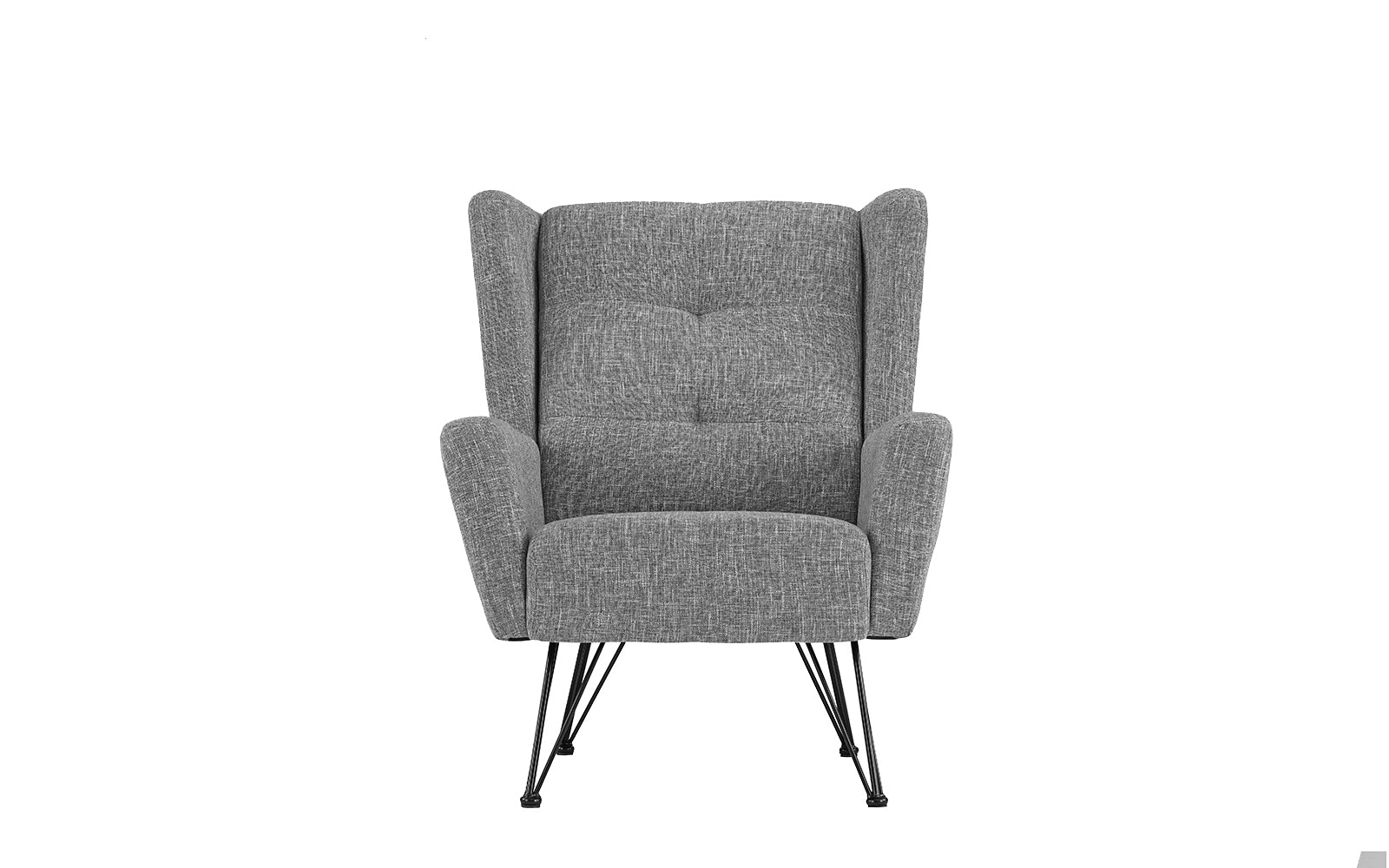 Low Shelter Back Accent Chair Image