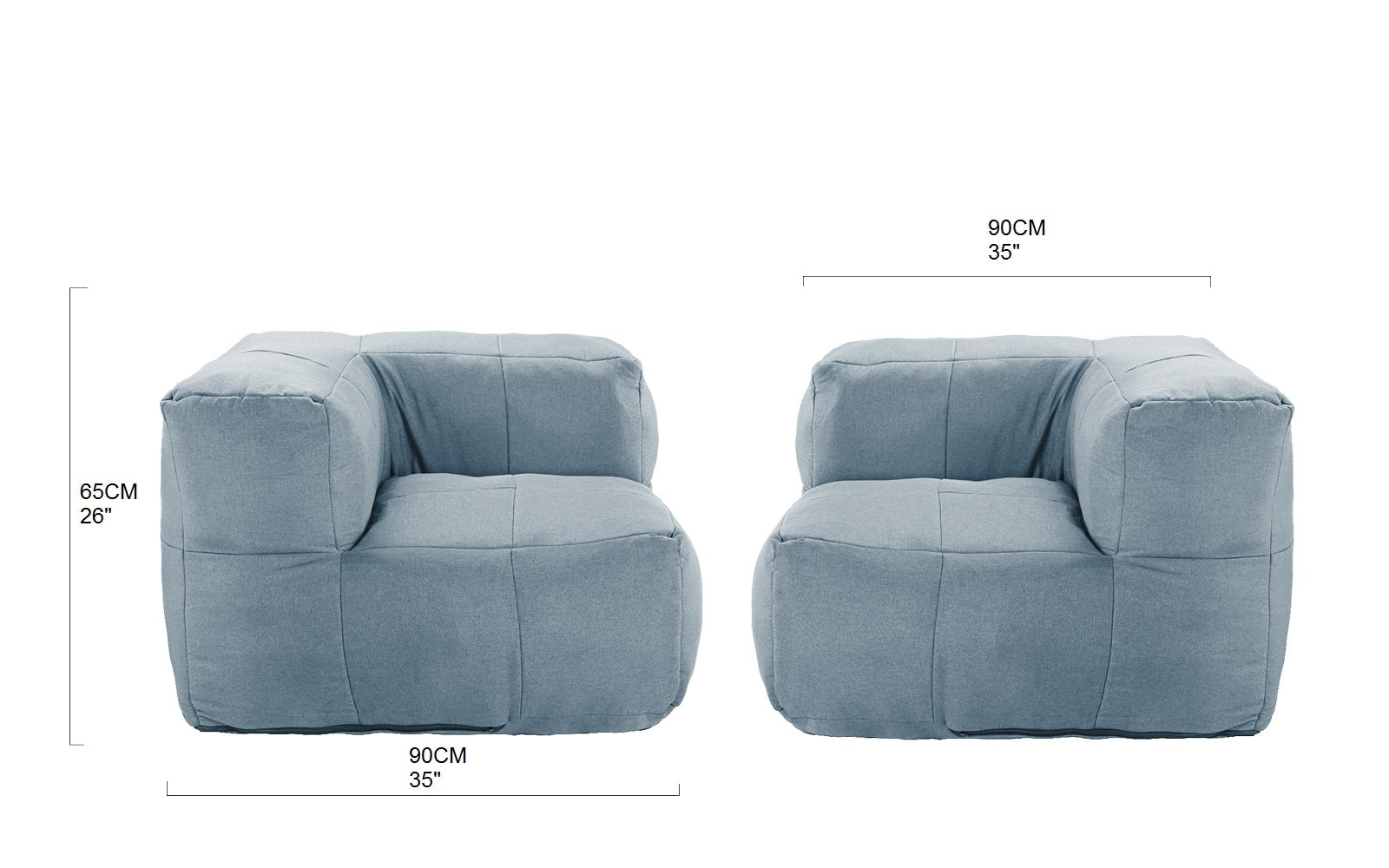 Isabel Tufted Chaise Lounge Sofamania Com