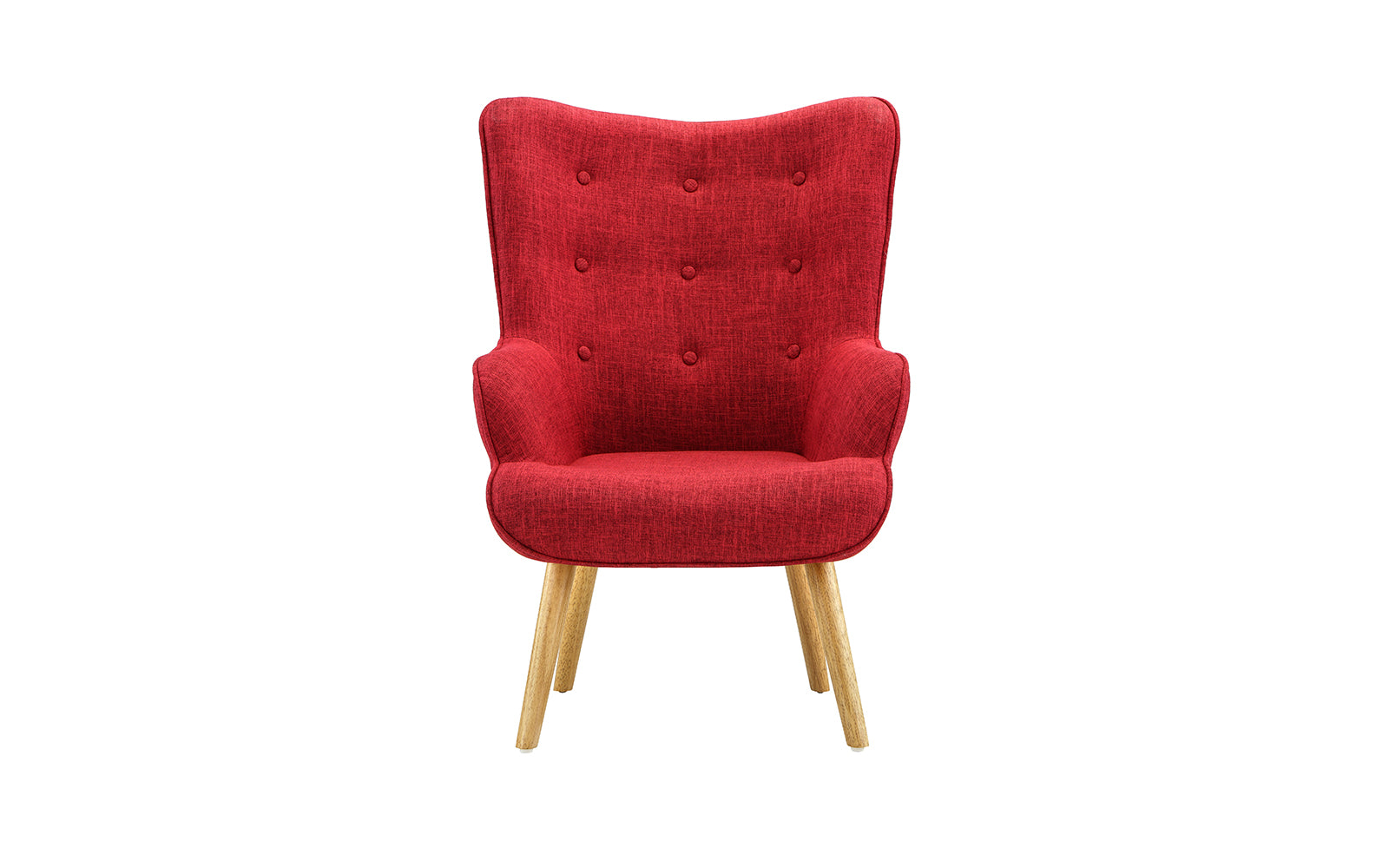 Enzo Modern Tufted Living Room Accent Chair   Sofamania.com