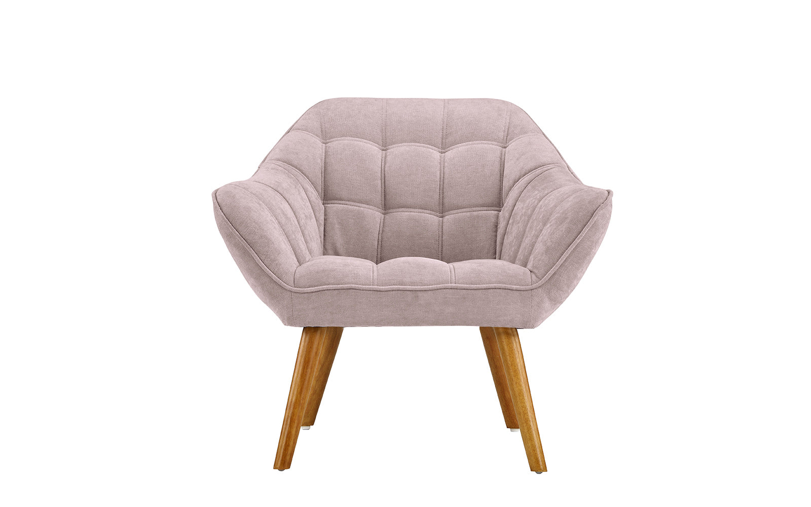 Linen Shell Accent Chair Image