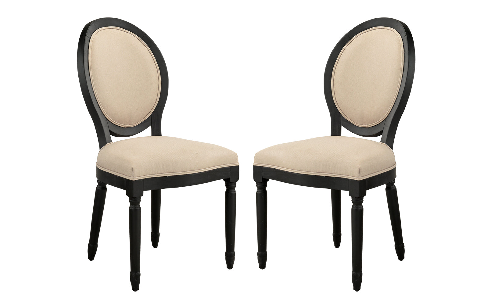 Antique Armless Dining Chairs Image