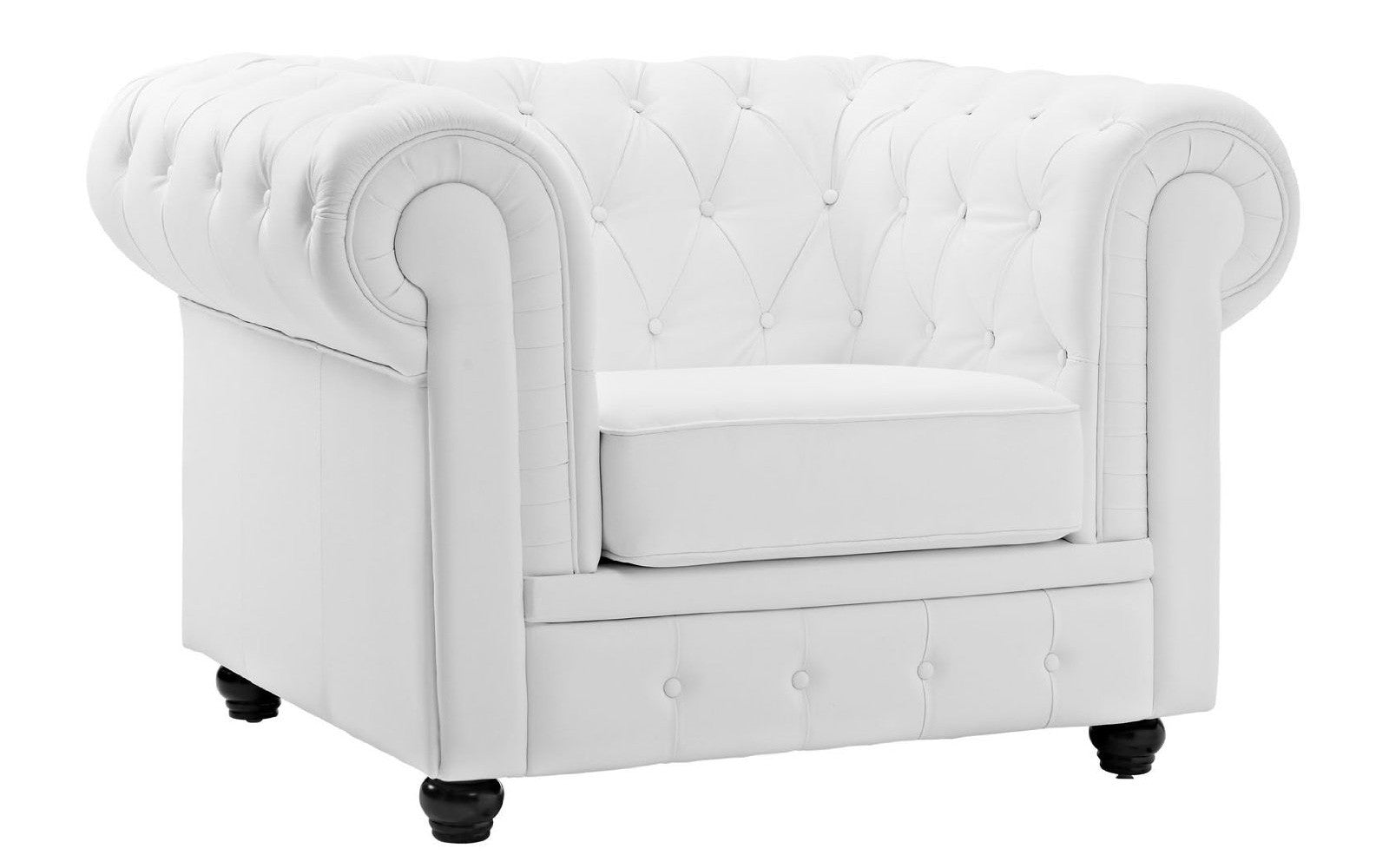 Bonded Leather Club Chair Image