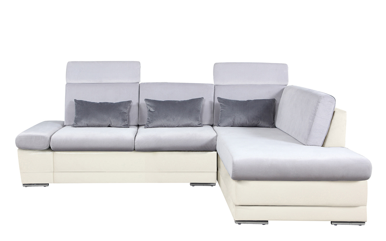 Leather Microfiber Sectional Image