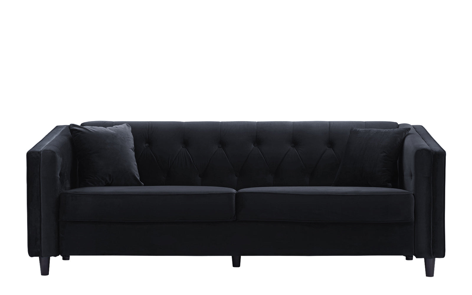 Brand new Adelia Victorian Velvet Sofa with Tufted Button Accents  ND63