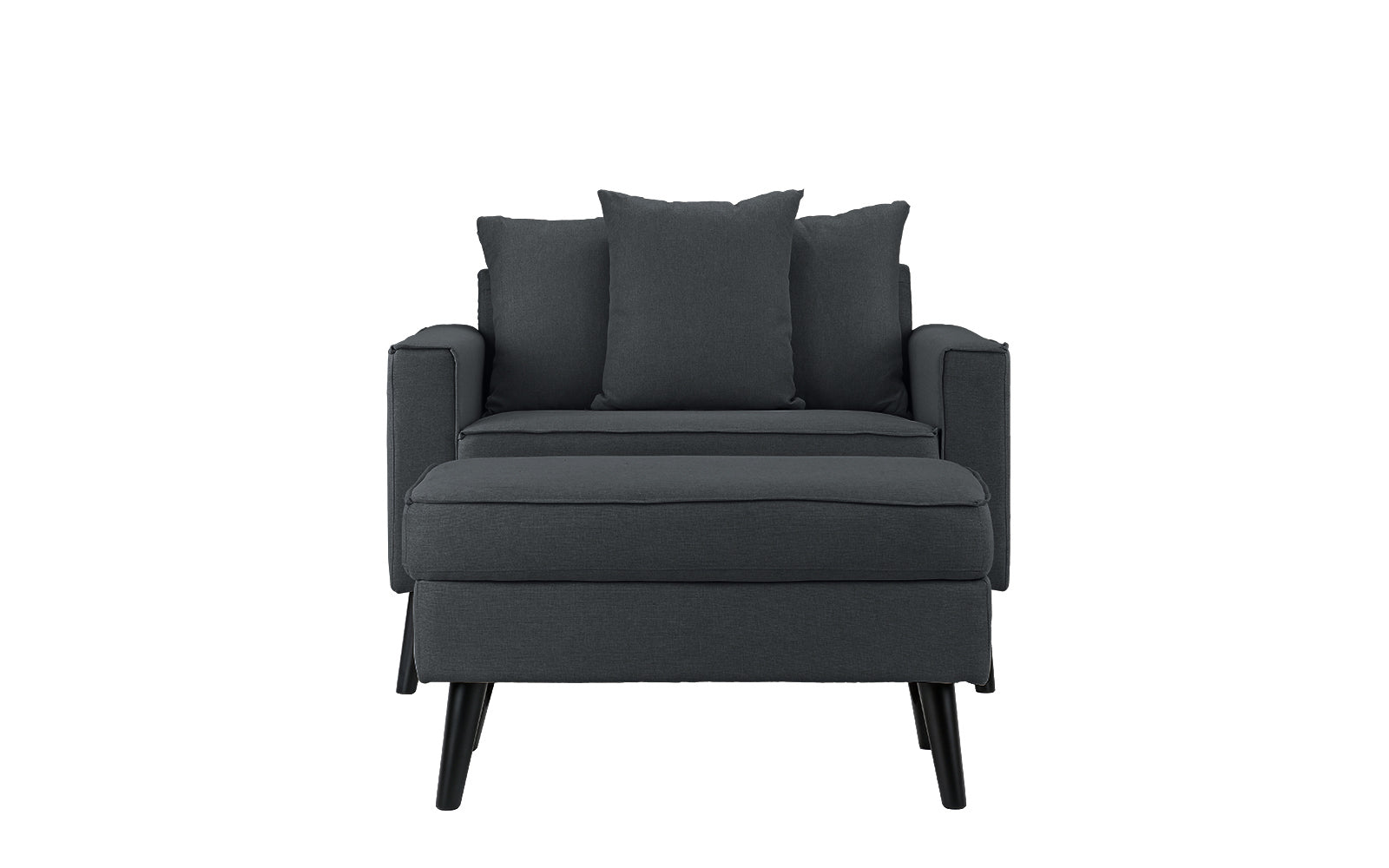 Ordinaire Robertson Modern Accent Chair With Storage Footrest