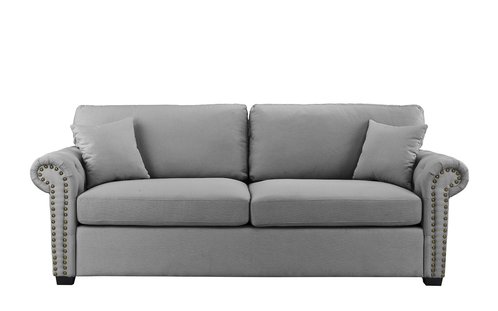 Executive Linen Loveseat Trim Image