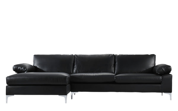 Excellent Amanda Modern Faux Leather Large Sectional Sofa Uwap Interior Chair Design Uwaporg