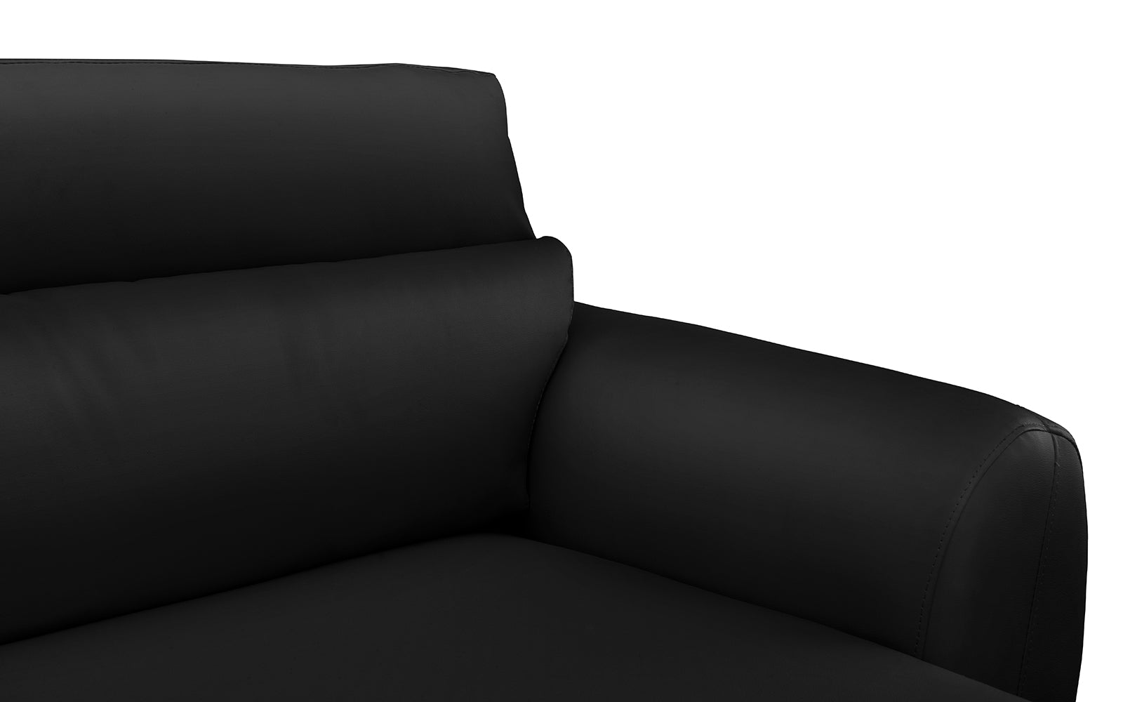 Zoe Bonded Leather Sectional Sofa