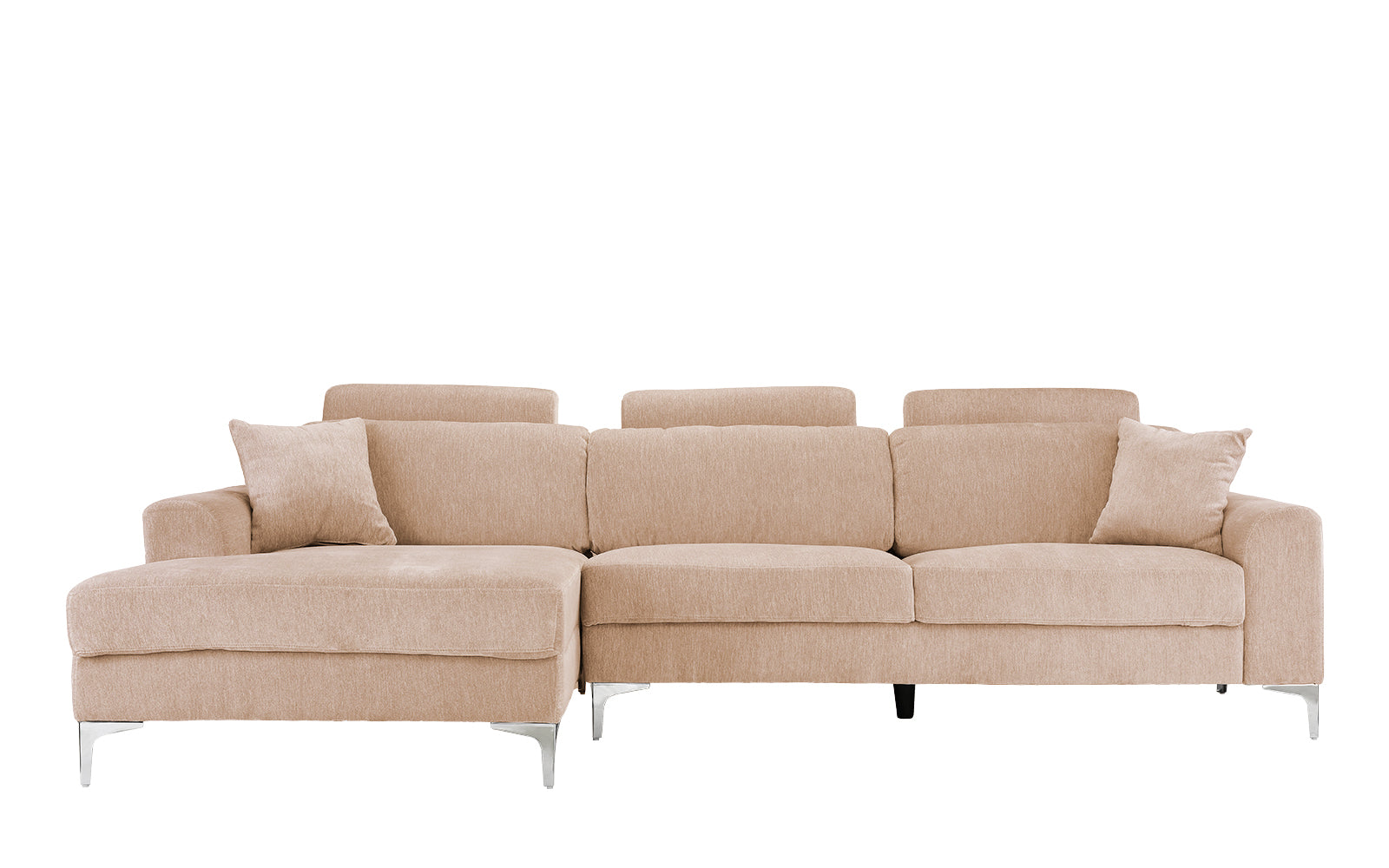 Kason Large Modern Linen Sectional Sofa