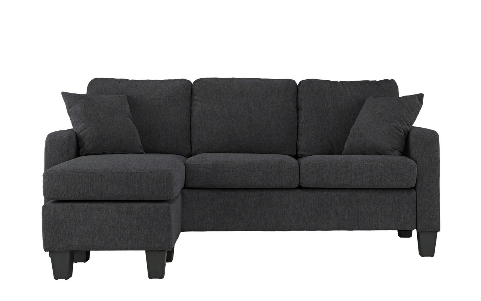 Microfiber Small Space Sectional Image